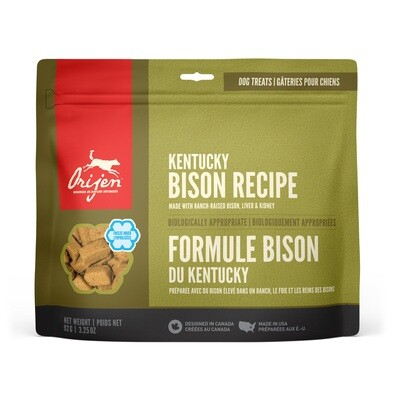 ORIJEN DOG TREAT BISON 92G.