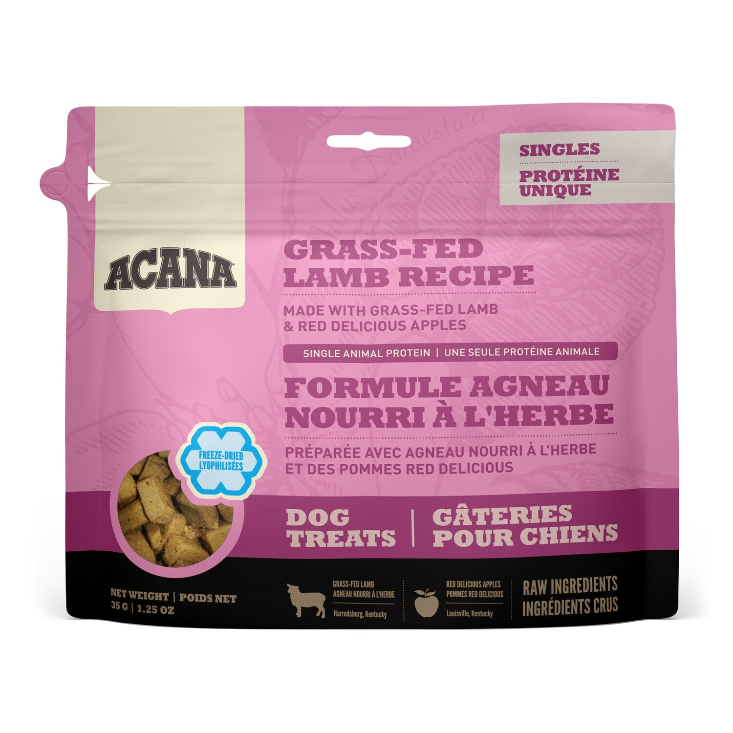 ACANA DOG TREAT LAMB 35G.