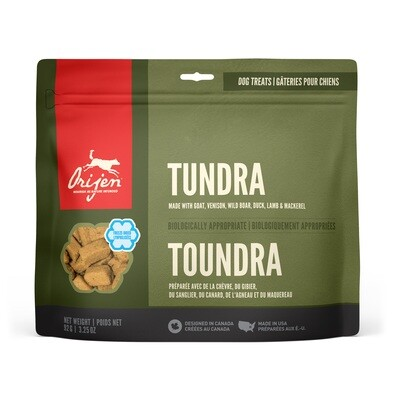 ORIJEN DOG TREAT TUNDRA 92G.