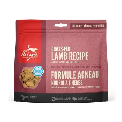ORIJEN DOG TREAT LAMB 42.5G.
