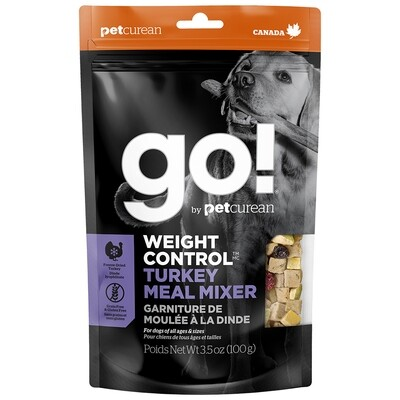 GO! MEAL MIXER WEIGHT CONTROL TURKEY 3.5OZ