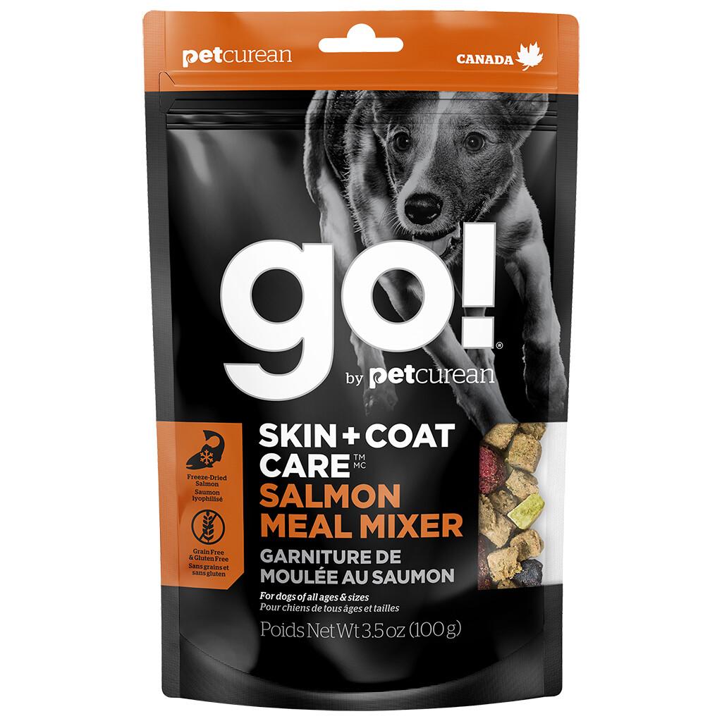GO! MEAL MIXER SKIN & COAT SALMON 3.5OZ