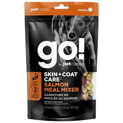 GO! MEAL MIXER SKIN & COAT SALMON 3.5OZ