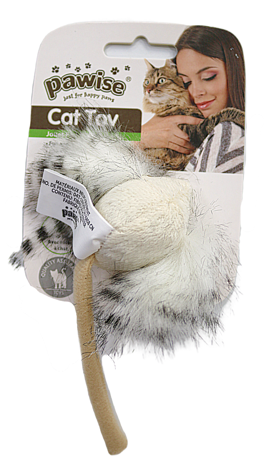 PAWISE CRAZY EAR MOUSE CAT TOY.