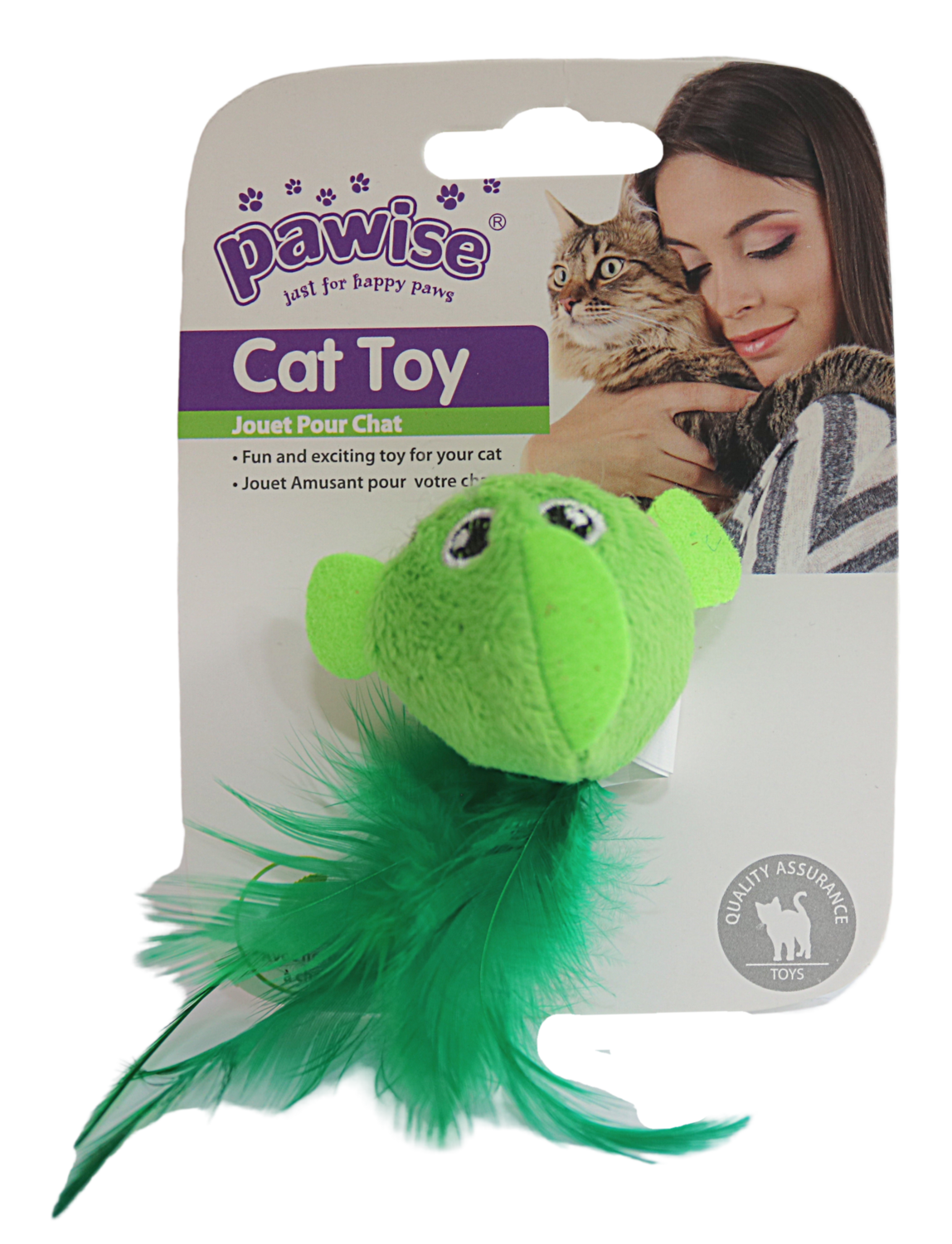 PAWISE BIRD CAT TOY.