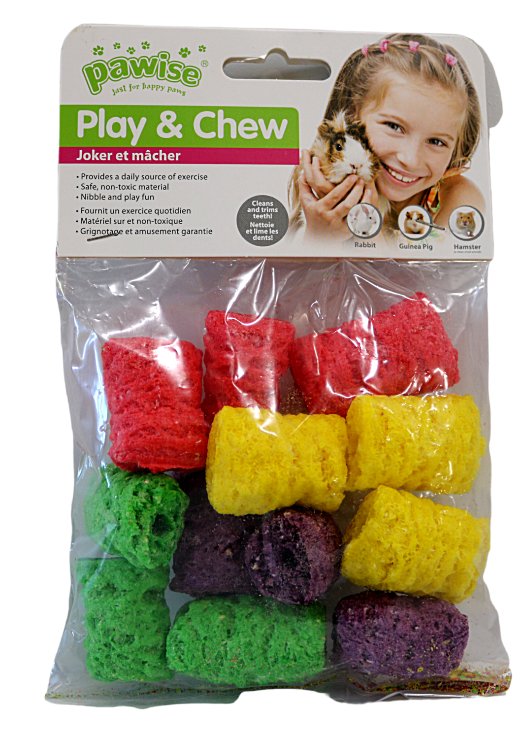 PAWISE PLAY & CHEW RICE POPS SM.