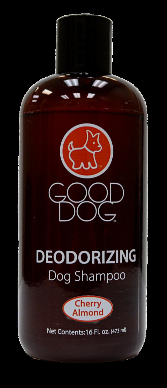 GOOD DOG SHAMPOO DEODERIZING CHERRY ALMOND 16OZ.