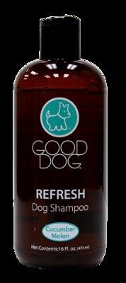 GOOD DOG SHAMPOO REFRESH CUCUMBER MELON 16OZ.