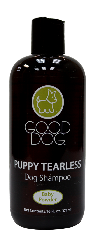 GOOD DOG SHAMPOO PUPPY TEARLESS BABY POWDER 16OZ.