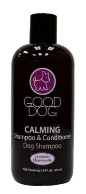 GOOD DOG SHAMPOO & CONDITIONER CALMING LAVENDER 16OZ.