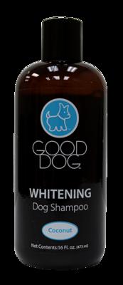 GOOD DOG SHAMPOO WHITENING COCONUT 16OZ.
