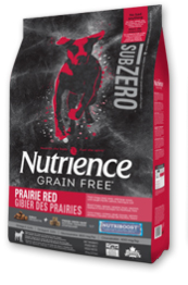 NUTRIENCE SUBZERO DOG PRARIE RED 2.27KG.