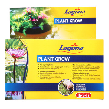 LAGUNA PLANT GROW FERTILIZER POND SPIKES 18CM