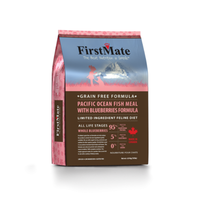 FIRSTMATE CAT PACIFIC FISH & BLUEBERRIES 3.96LB.
