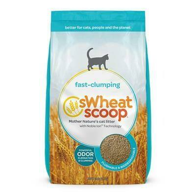 SWHEAT SCOOP FAST CLUMPING LITTER 25LBS.