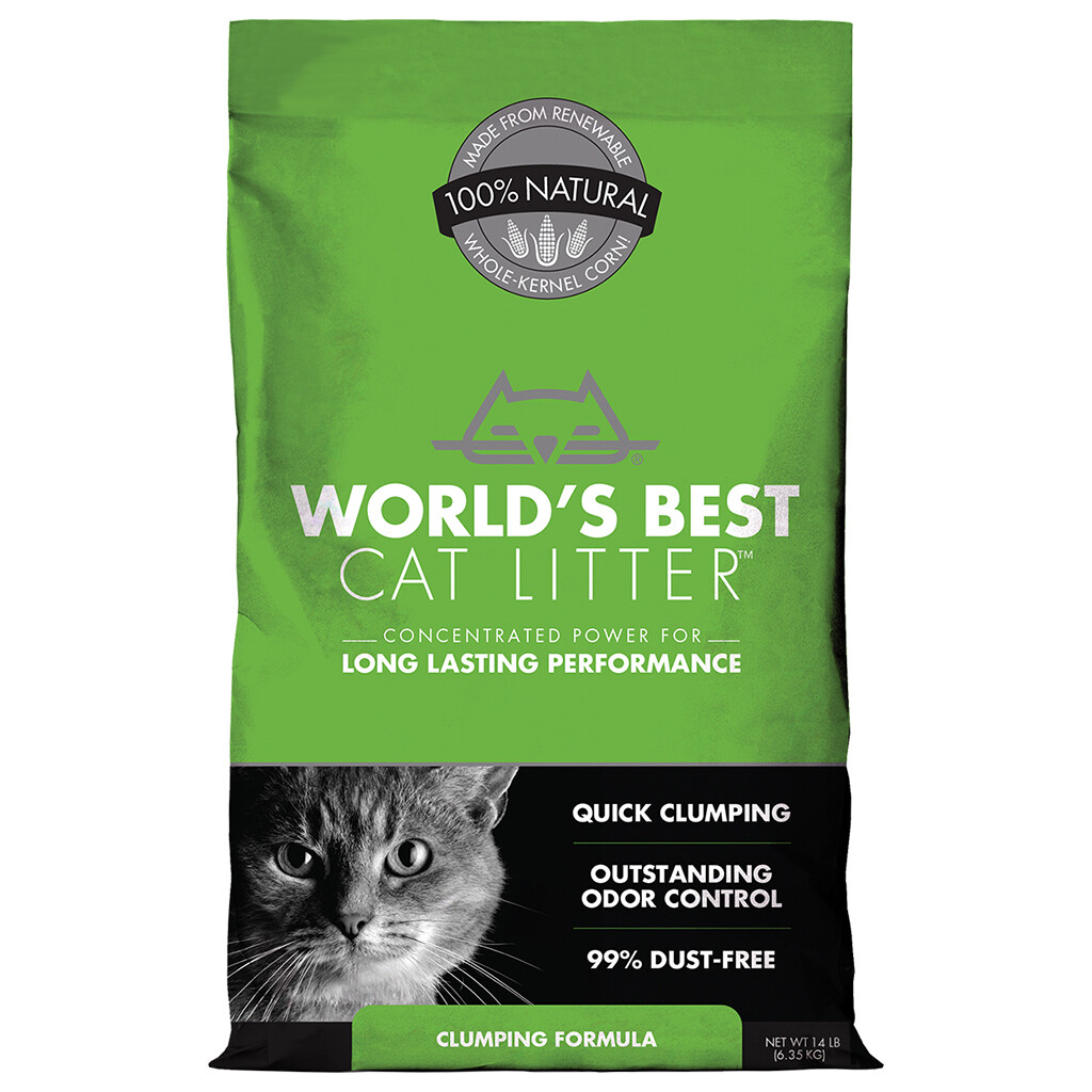 WORLDS BEST ORIGINAL CLUMPING LITTER 6.35KG.