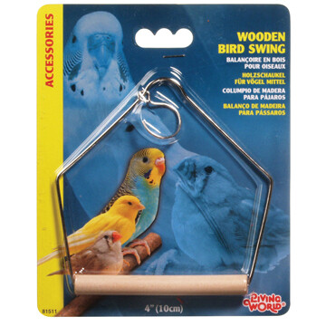 LIVING WORLD WOODEN SWING MED.