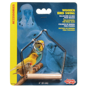 LIVING WORLD WOODEN SWING SM.
