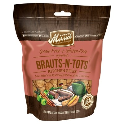 MERRICK BRAUTS-N-TOTS TREATS 9OZ.