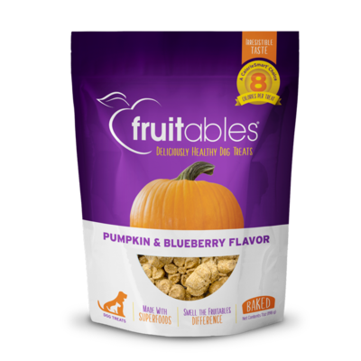 FRUITABLES PUMPKIN & BLUEBERRY 7OZ.