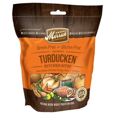 MERRICK TURDUCKEN TREATS 9OZ.