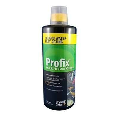 CRYSTAL CLEAR PROFIX QUICK FIX POND CLEANER 32OZ.