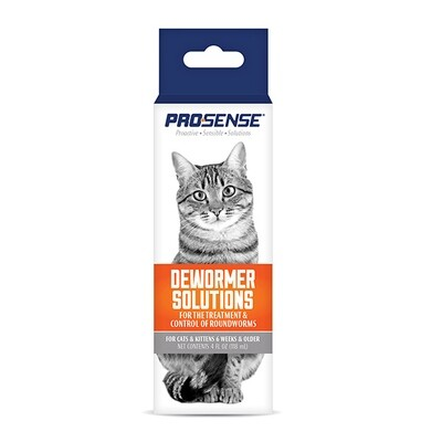PRO SENSE LIQUID CAT DEWORMER 4OZ.