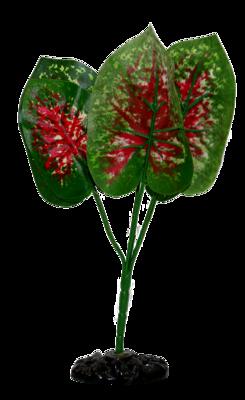 AL SILK REPTILE PLANT ANTHURI 30CM.
