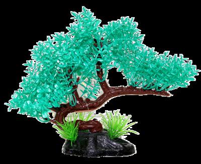 AL PLASTIC REPTILE PLANT BLUE TREE 5IN.