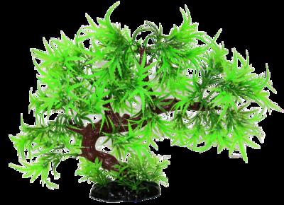 AL PLASTIC REPTILE PLANT GREEN TREE 9IN.