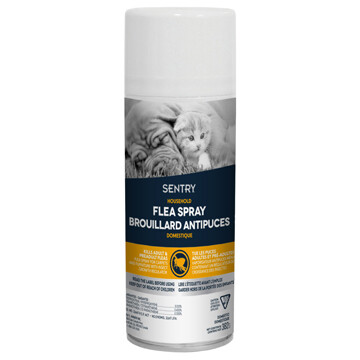 SENTRY HOUSEHOLD FLEA & TICK SPRAY 382G.