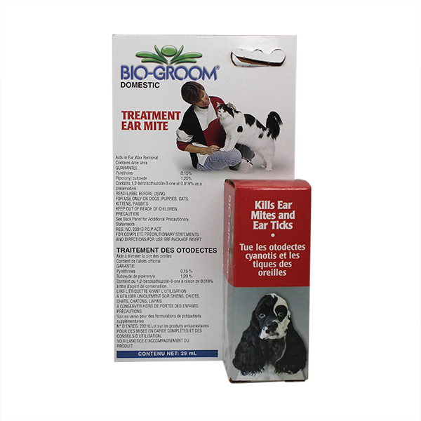 DOG EAR MITE TREATMENT 29ML.