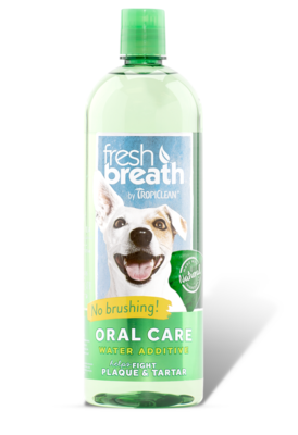 TROPICLEAN ORAL CARE H2O ADDITIVE 1L.