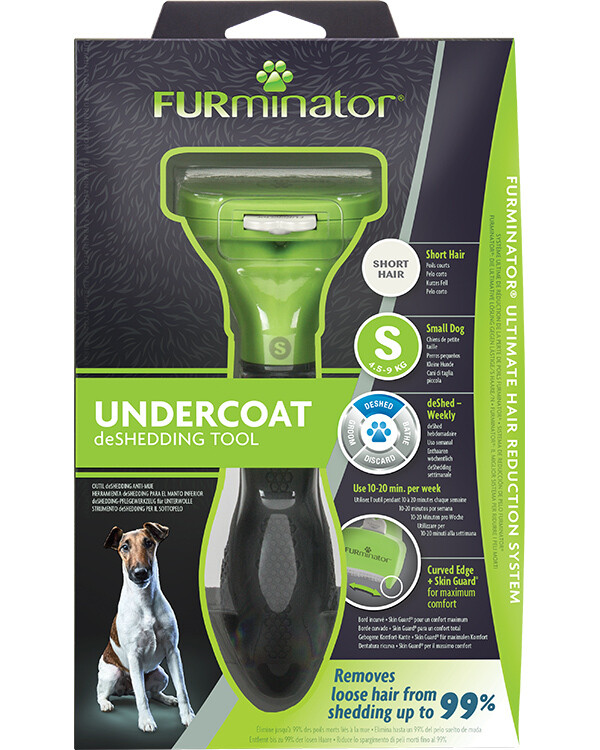 FURMINATOR SHORT HAIR DESHEDDING TOOL SM.