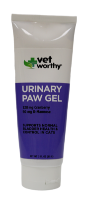 VET WORTHY URINARY PAW GEL .3OZ.