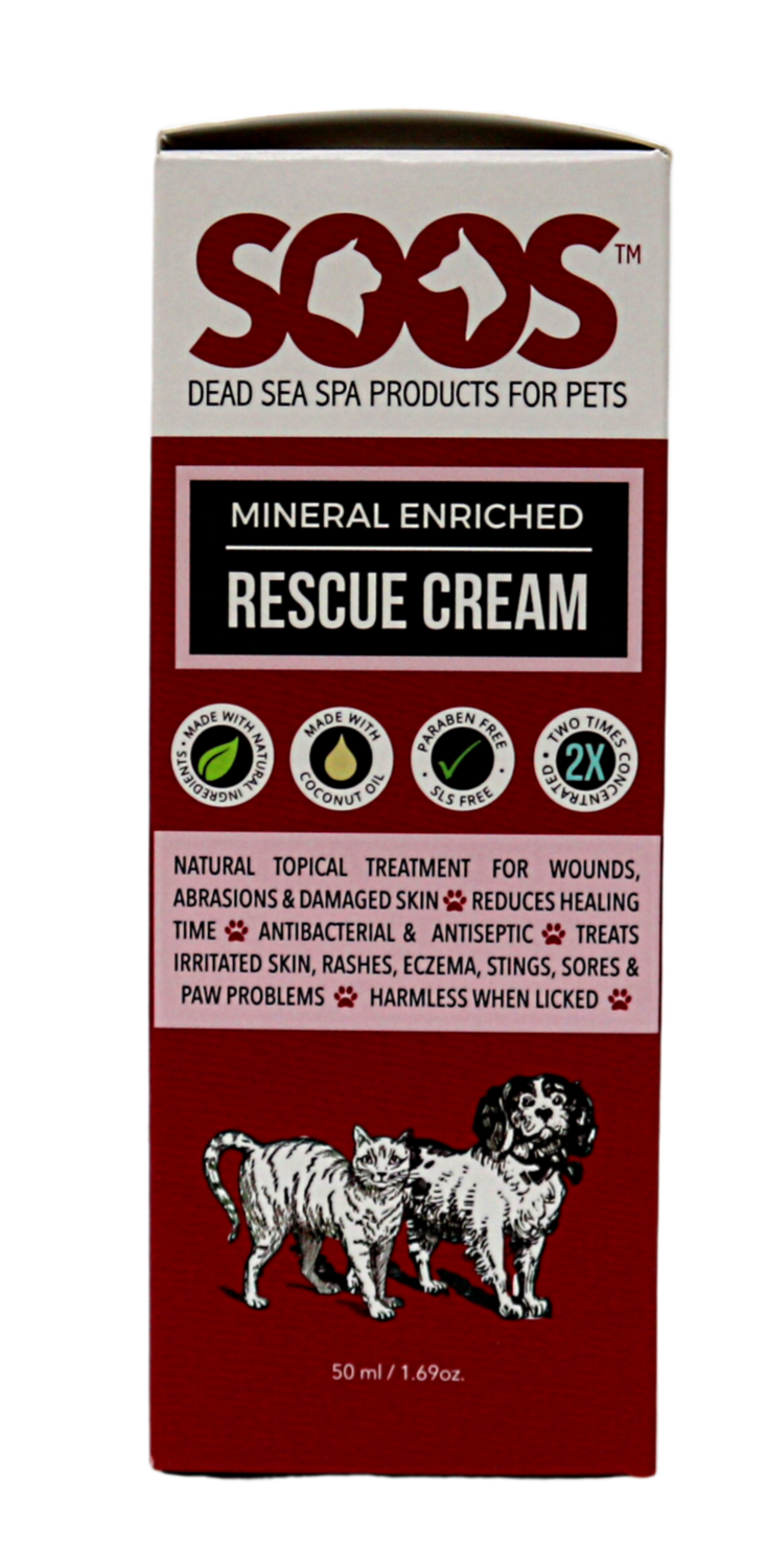 SOOS NATURAL MINREAL ENRICHED RESCUE CREAM 50ML.