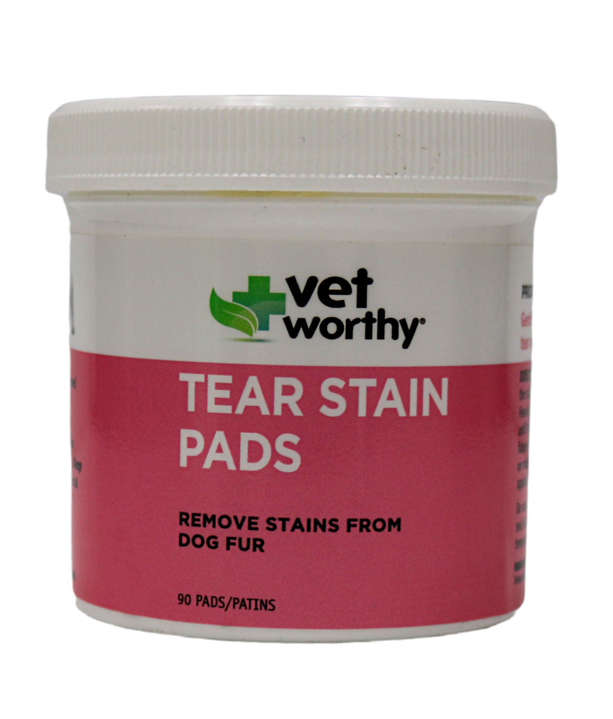VET WORTHY TEAR STAIN PADS 90CT.
