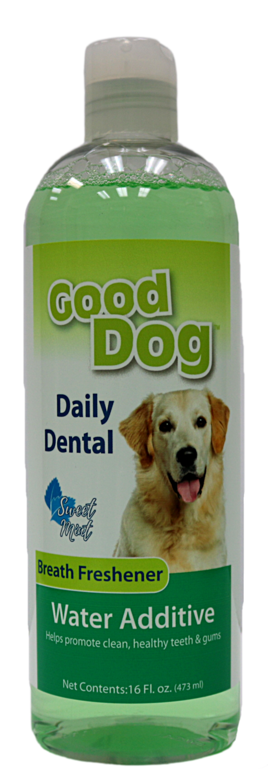 GOOD DOG DENTAL WATER ADDITIVE 16OZ.