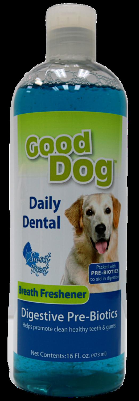 GOOD DOG DENTAL WATER ADDITIVE  DIGESTIVE 16OZ.