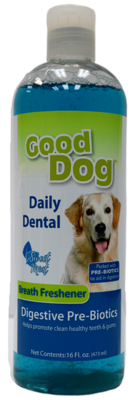 GOOD DOG DENTAL WATER ADDITIVE  DIGESTIVE 16OZ.