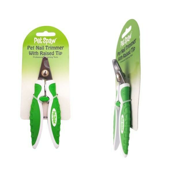 PET SPAW NAIL TRIMMER W/ RAISED TIP.