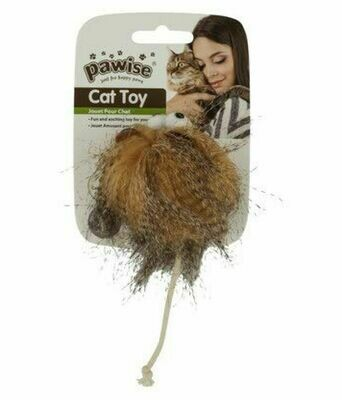 PAWISE WOOLY MONSTER CAT TOY.