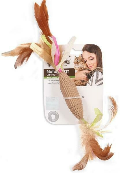 PAWISE NATURE FIRST CANDY CAT TOY.
