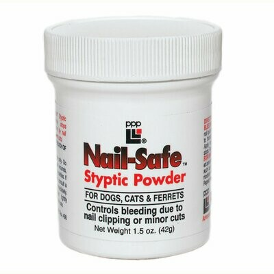 NAIL SAFE STYPTIC POWDER .5OZ
