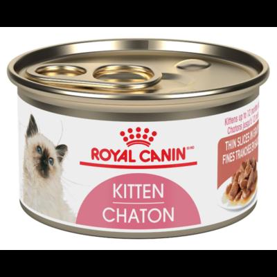 ROYAL CANIN THIN SLICES IN GRAVY KITTEN 85GM.