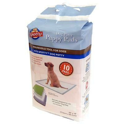 SPOTTY PUPPY PADS F/TRAINING 10CT.
