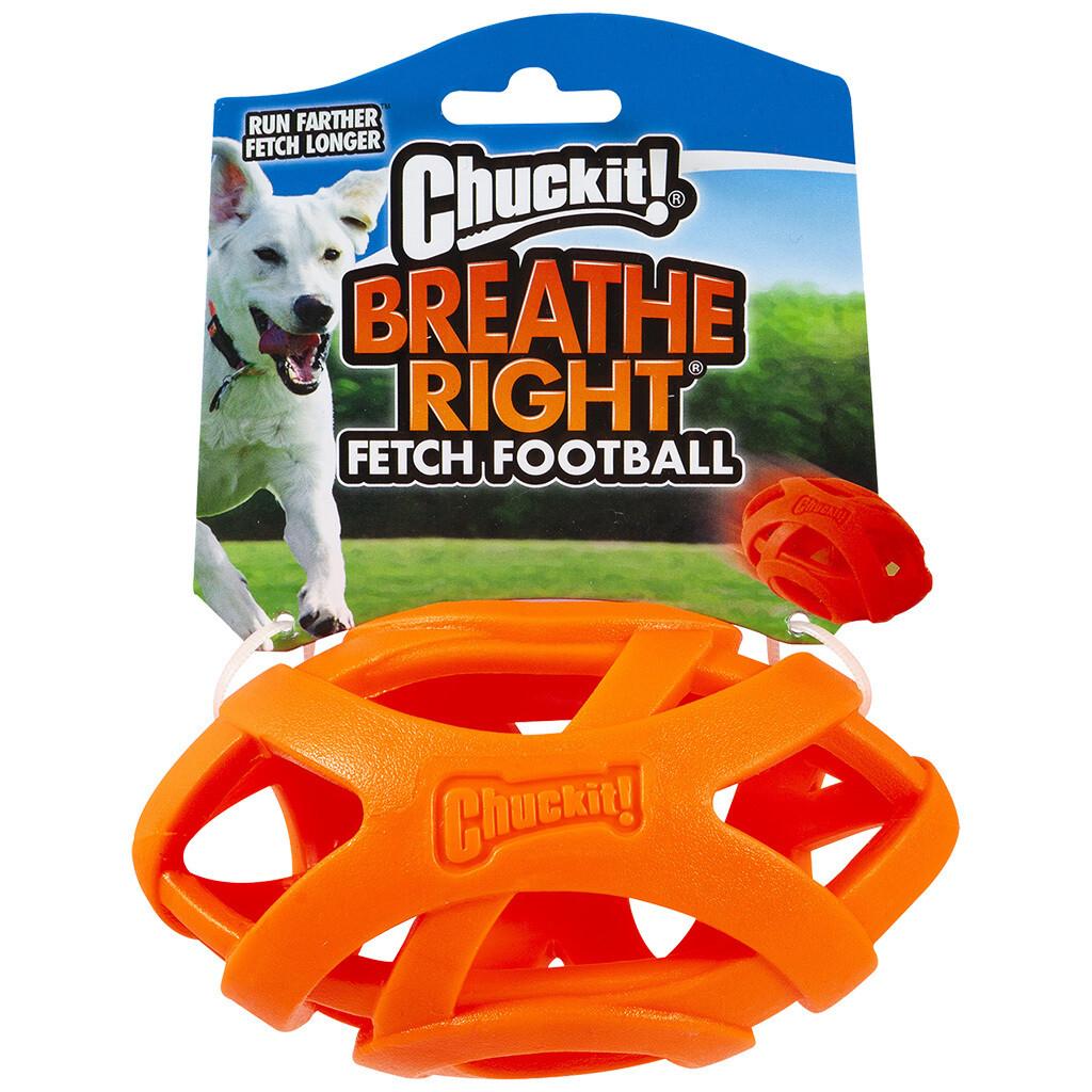 CHUCK IT BREATHE RIGHT FOOTBALL.