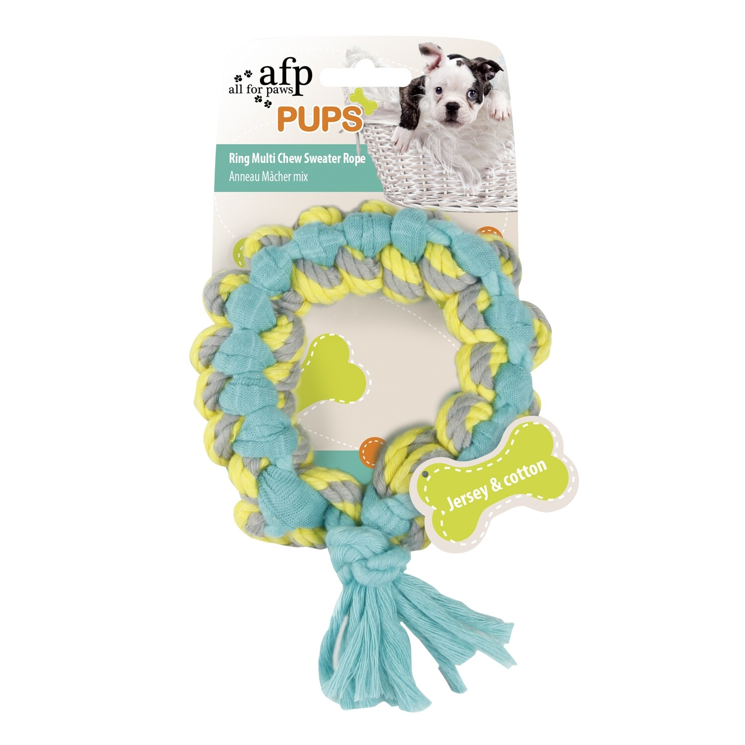 AFP PUPS SWEATER ROPE RING.