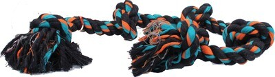 FLOSSY CHEW ROPE TUG 5 KNOT - SUPER XL 72IN.