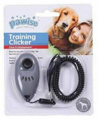 PAWISE TRAINING CLICKER GREY.